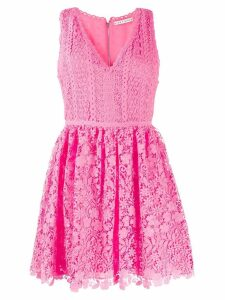 Alice+Olivia crochet sleeveless dress - Pink