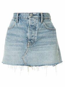 Alexander Wang Zip Snip denim skirt - Blue