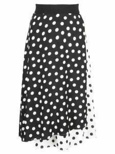 Alice+Olivia Nanette mock wrap skirt - Black