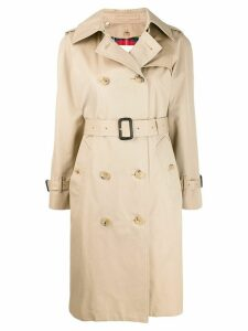 Mackintosh MUIRKIRK Honey Cotton Trench Coat LM-1011FD - Neutrals