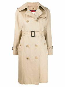 Mackintosh MUIRKIRK Honey Cotton Trench Coat LM-1011FD - NEUTRALS