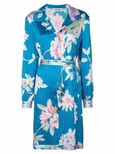 Leonard Sidney Camelia dress - Blue