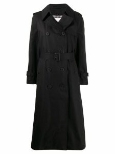 Mackintosh FORREST Black Cotton Long Trench Coat LM-1013FD