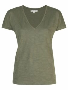 Alex Mill Slub V-Neck T-shirt - Green