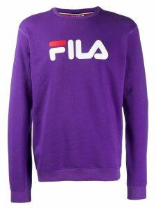 Fila logo sweatshirt - Purple