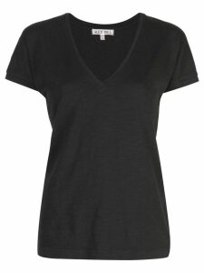 Alex Mill Slub V-Neck T-shirt - Black