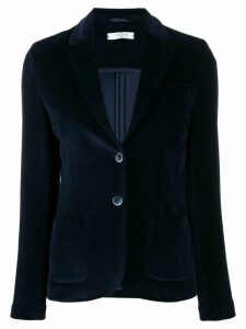 Circolo 1901 velur fitted blazer - Blue