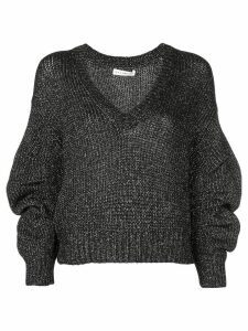 Ulla Johnson cropped jumper - Black