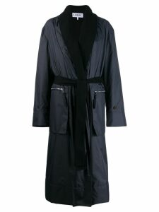 Loewe tie waist coat - Blue