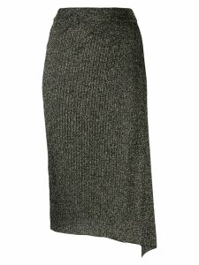 Pinko ribbed knit skirt - Black