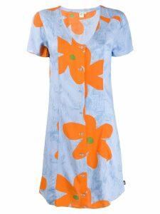 Vans floral print dress - Blue