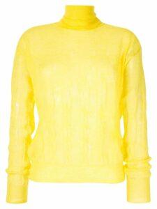 Nina Ricci fine knit jumper - Yellow