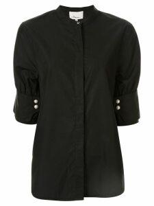 3.1 Phillip Lim mandarin collar shirt - Black
