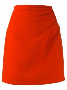 MSGM short gathered detail skirt