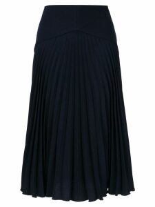Dion Lee Annex pleated skirt - Blue