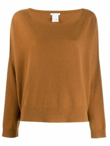 Société Anonyme knitted long sleeve jumper - Brown