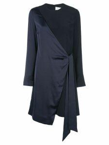 Victoria Victoria Beckham wrap style evening dress - Black