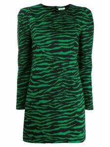 P.A.R.O.S.H. long sleeve short dress - Green