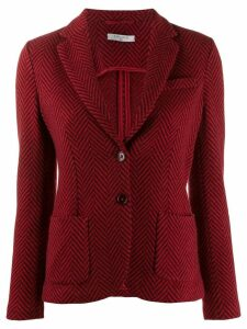 Circolo 1901 classic fitted blazer - Red