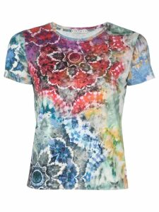 Alice+Olivia tie-dye T-shirt - Multicolour