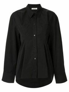 Nina Ricci fitted waist shirt - Black