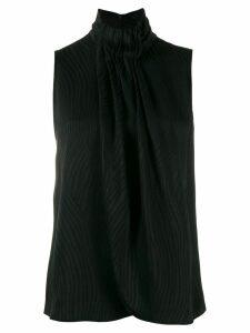 Emporio Armani tank-style blouse - Black