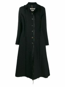 Uma Wang single-breasted coat - Black