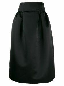 Emporio Armani a-line skirt - Black