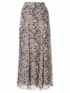 Giambattista Valli floral print skirt - Pink