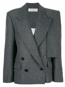 Nina Ricci cape sleeve blazer - Grey