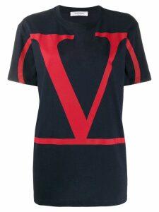 Valentino VLOGO print T-shirt - Blue