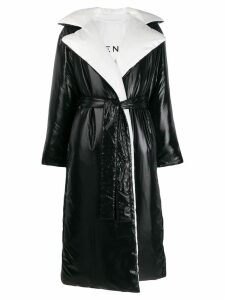 Givenchy reversible padded trench - Black