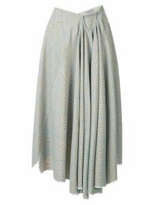 Nina Ricci asymmetric hem skirt - Neutrals