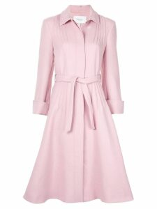Giambattista Valli concealed front coat - Pink