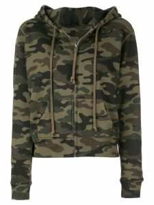 Nili Lotan camouflage pattern hoodie - Green