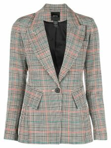 Smythe checked blazer - Brown