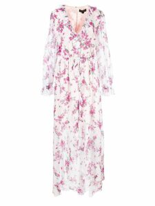 Rachel Zoe floral ruffle day dress - Multicolour