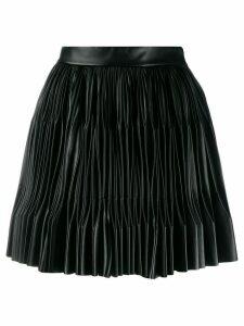 Marco De Vincenzo pleated mini skirt - Black