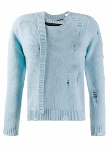 Marc Jacobs The Worn and Torn sweater - Blue