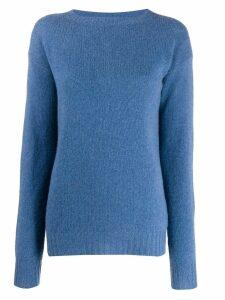 Prada oversized cashmere jumper - Blue