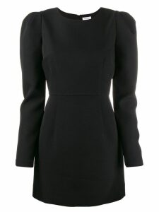 P.A.R.O.S.H. puff sleeve dress - Black