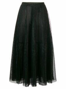 Marco De Vincenzo tulle midi skirt - Black