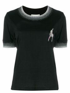 Marco De Vincenzo deer embellished T-shirt - Black