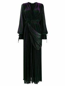 Marco De Vincenzo belted maxi dress - Black