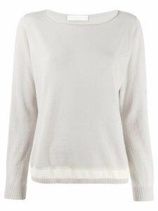 Fabiana Filippi lightweight sweatshirt - Grey