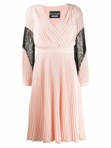 Boutique Moschino pleated dress - Pink