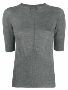Lorena Antoniazzi cashmere knitted top - Grey