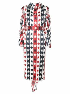 Hellessy stars and stripes dress - White