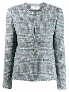 Isabel Marant Étoile classic tweed jacket - Blue