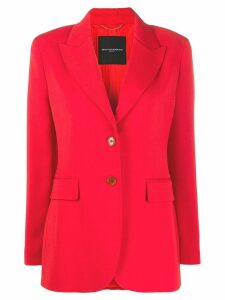 Ermanno Scervino fitted blazer - Red